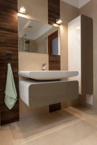29 Bathrooms with Stylish Floating Sinks