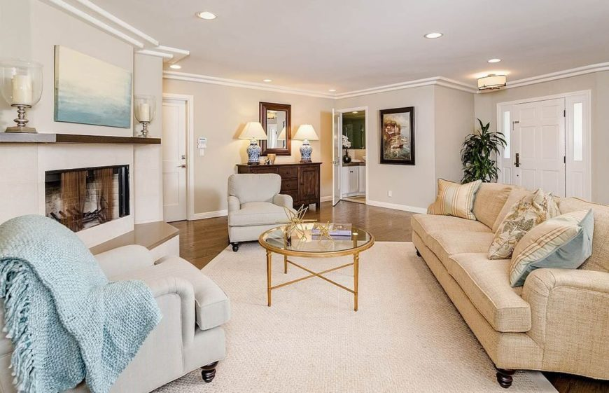 24 Lovely Living Room Staging Ideas Photos