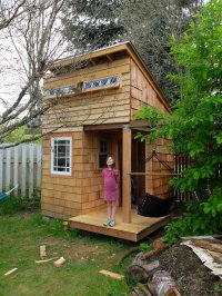 27 Completely Awesome Backyard Playhouse Ideas