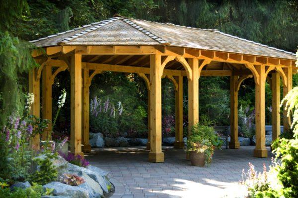 fabulous backyard pavilion ideas