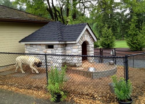 Backyard Brick Patio