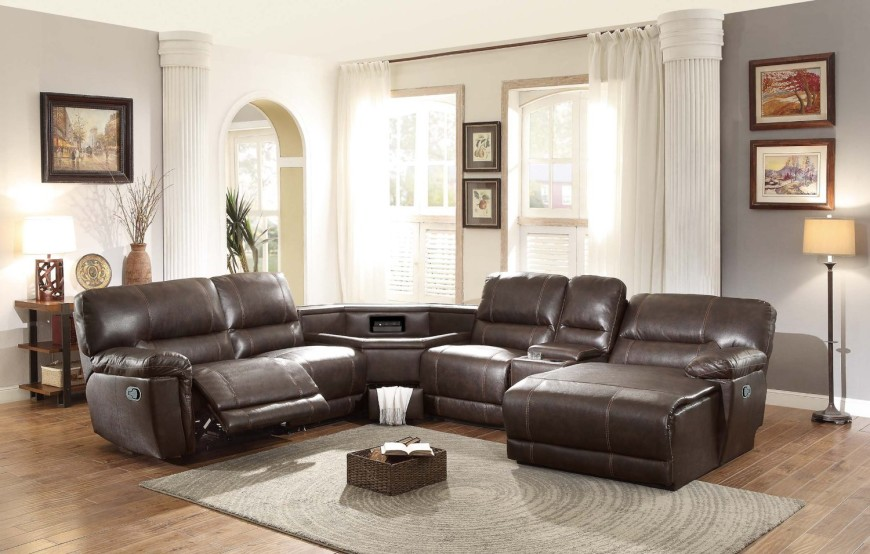 best sectional sofas for the money pull out sofa bed top 10 reclining 2019 8brown recliner with table console in center