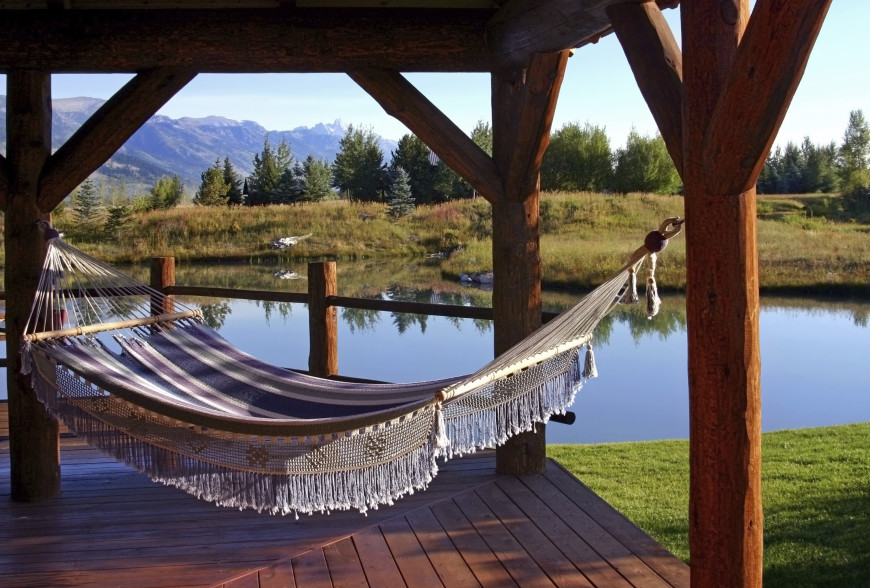 38 LazyDay Backyard Hammock Ideas