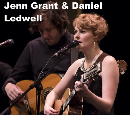 Jenn Grant and Daniel Ledwell