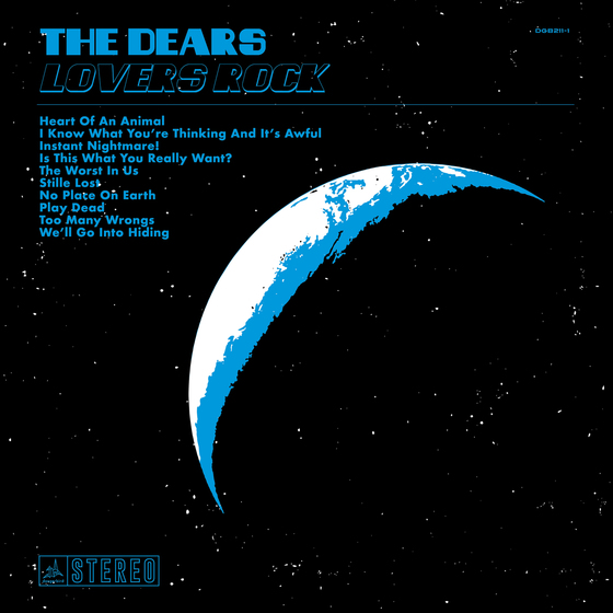 The Dears Lovers Rick album cover artwork