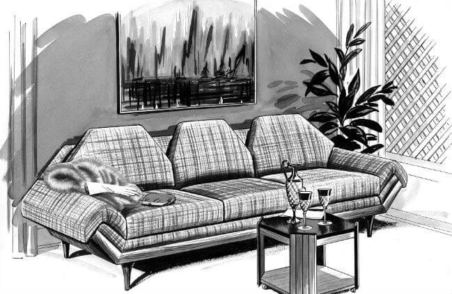 commercial sofas and chairs chair design basics flexsteel furniture for home business the thunderbird sofa is back you heard us right bringing one of most iconic we ve ever created