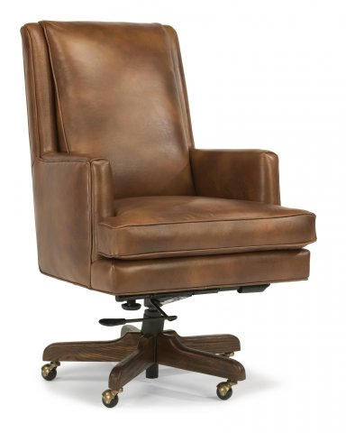 home office desk chairs living room side flexsteel leather chair