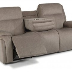 Electric Recliner Sofa Not Working Craigslist Nashville Couch Flexsteel Recliners Reclining Chairs Sofas And Sectionals Fabric Power With Headrests