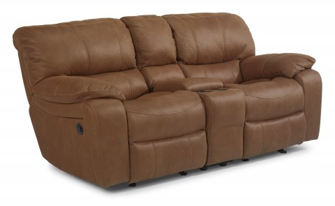 flexsteel julio reclining sofa togo brown leather sofas and loveseats | sleepers