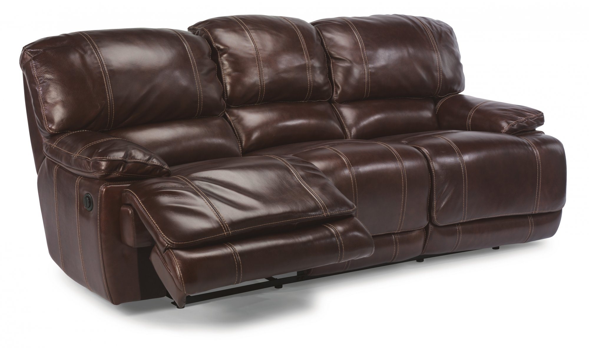 flexsteel double reclining sofa reviews leather sleeping belmont com share via email download a high resolution image