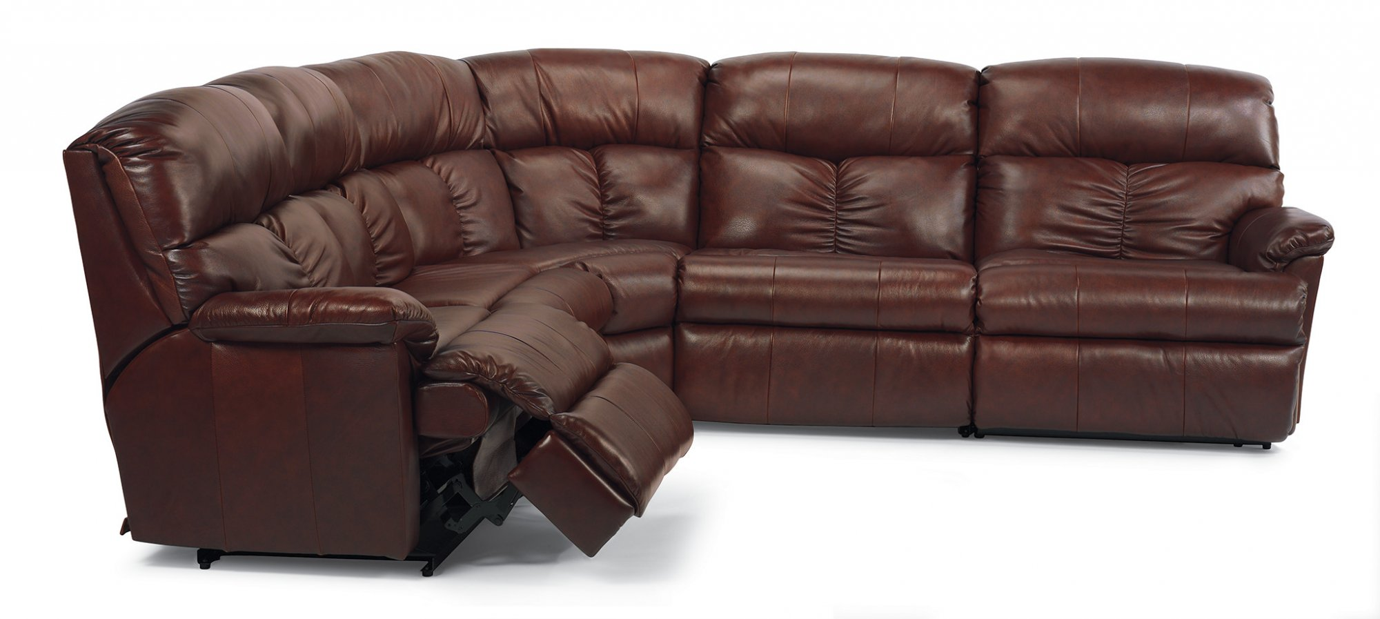 home theater leather sofa childrens chairs australia 4piece power recliner sectional