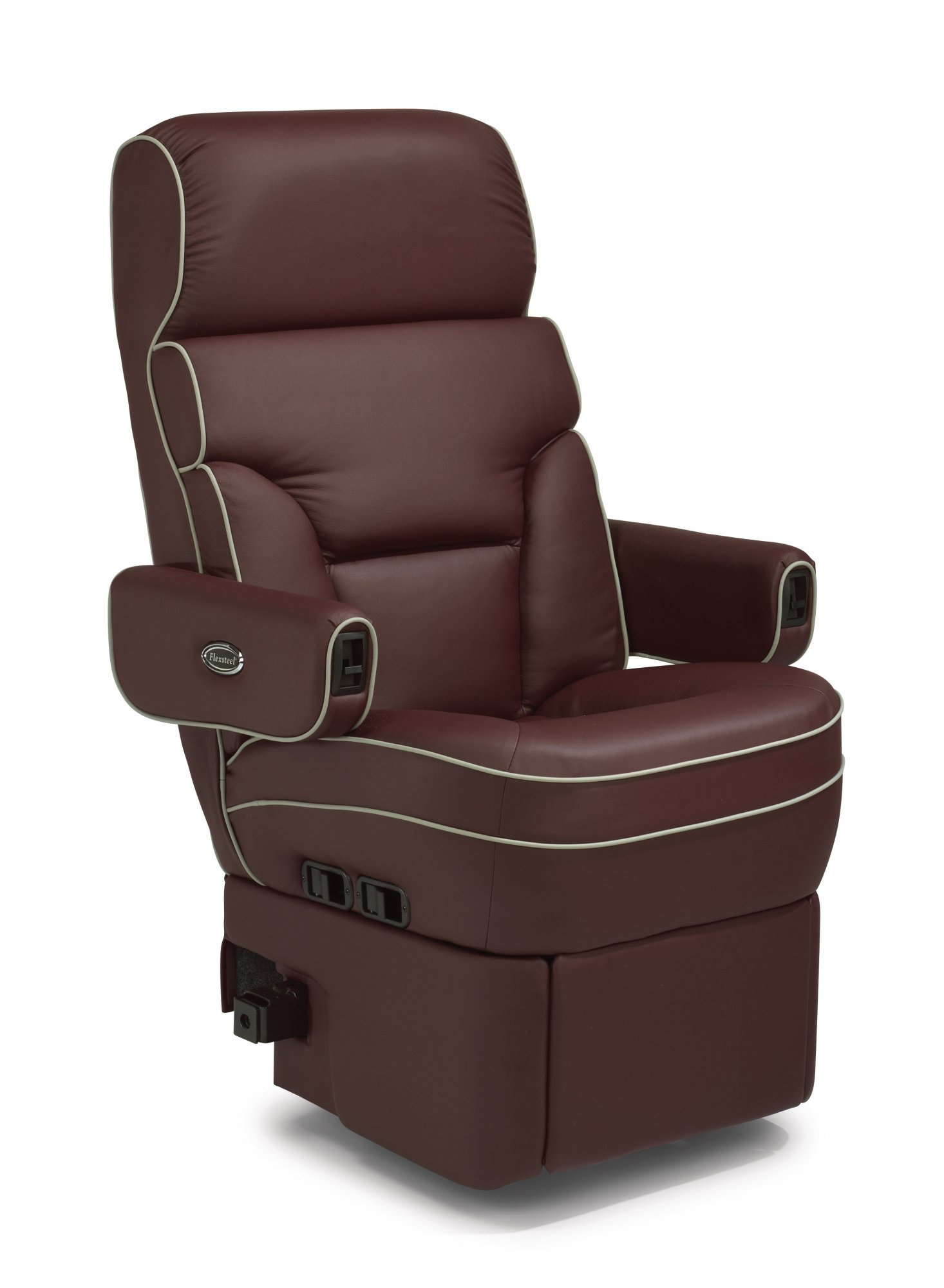 rv furniture captains chairs exercise ball as office chair benefits flexsteel leather seat covers velcromag