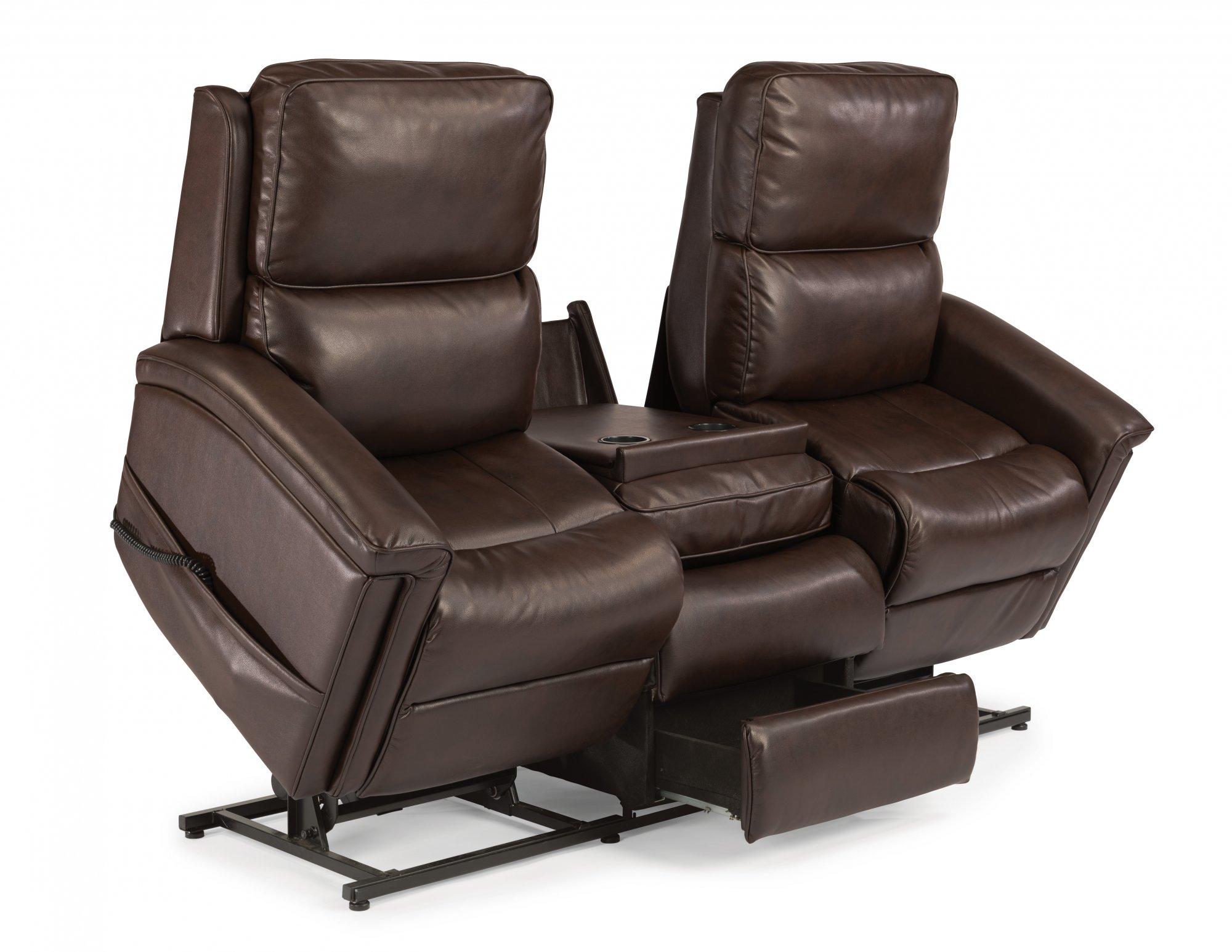 flexsteel julio reclining sofa bargain sofas dublin talentneeds