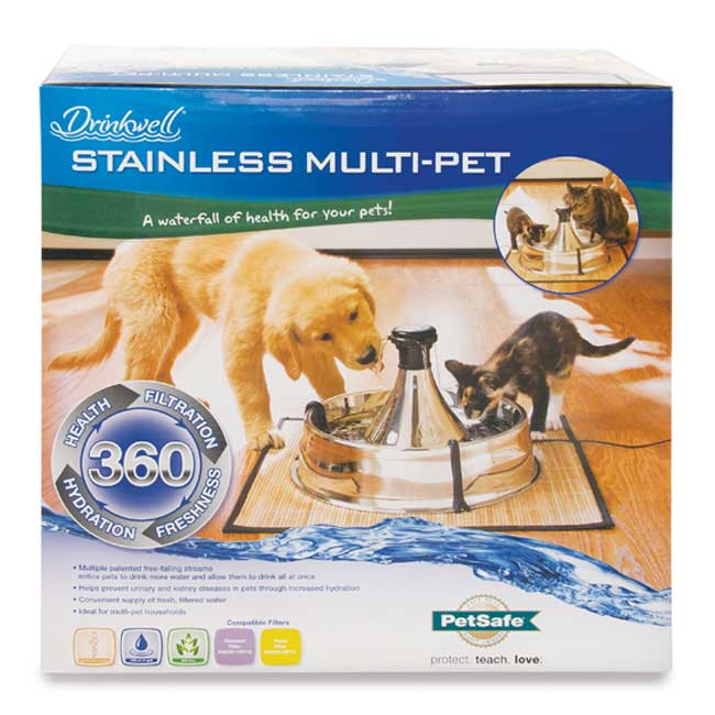 Pet Replacement Steel Fountain Filters Drinkwell Stainless
