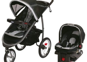 Graco FastAction Fold Jogger Click Connect Travel System Review