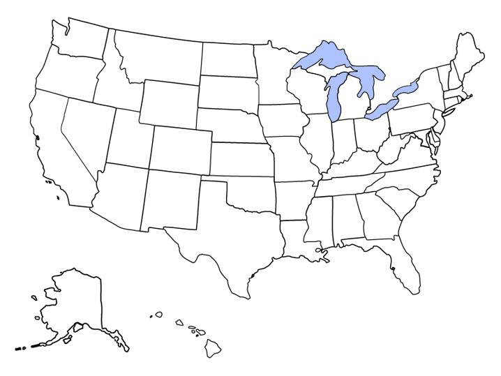 If you can't match more than 25 of the us state capitals to their states, you might need to go back to middle school. States Bordering Canada On A Map Quiz By Justchris