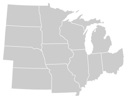 Hopefully, this should be easy. Identify The Midwestern States Quiz