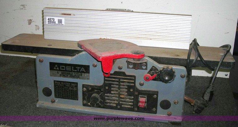 Delta 6 Jointer 37 070