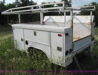 Rawson-Koenig 8' utility bed with ladder racks | Item 5017