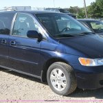 2003 Honda Odyssey Ex L Non Repairable Certificate Parts Only In Topeka Ks Item 2779 Sold Purple Wave