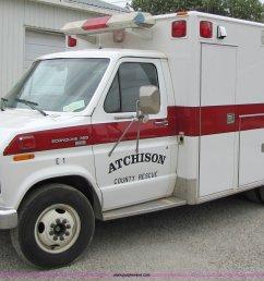 4767 image for item 4767 1990 ford econoline e350 ambulance [ 2048 x 1338 Pixel ]