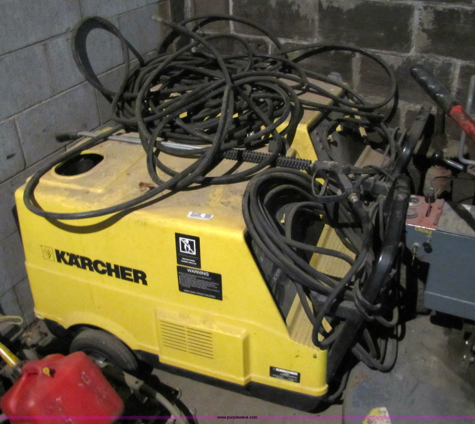 hight resolution of 2 karcher hot water high pressure washers item 5239 so hotsy pressure washer parts diagram