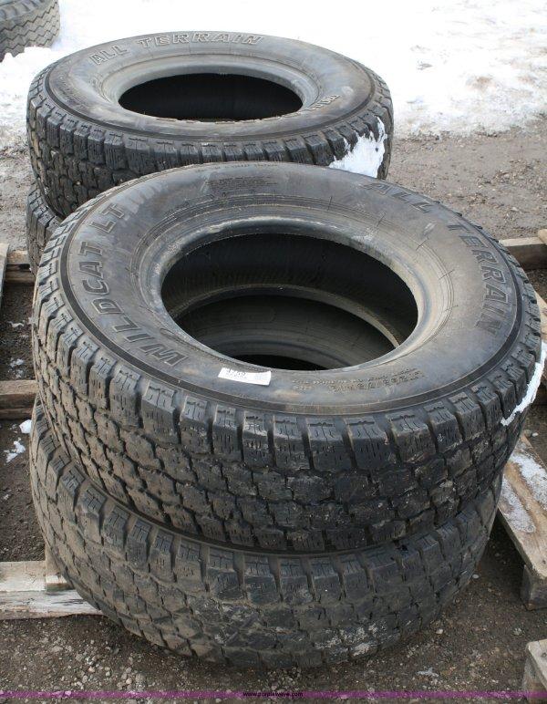 4 Wildcat Terrain Lt 265 75r16 Used Tires Item 4759