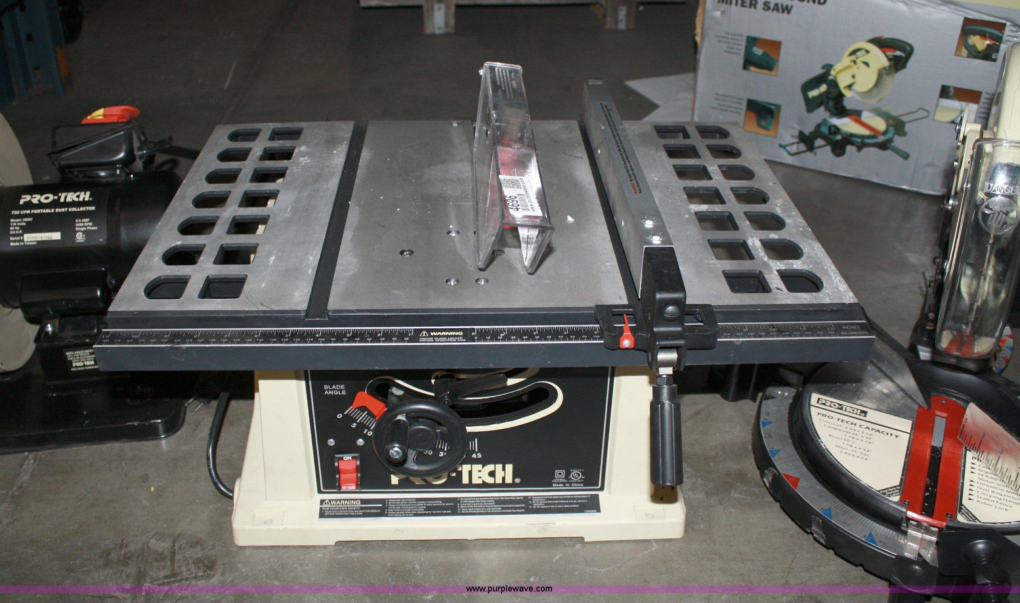 Pro Tech Table Saw