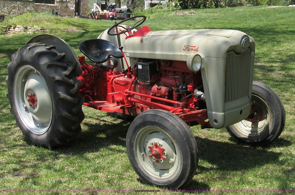 medium resolution of 8982 image for item 8982 1954 ford jubilee tractor