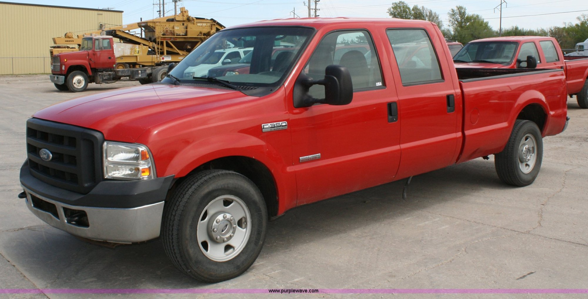 hight resolution of 2006 ford f350 super duty crew cab pickup truck for sale in kansas