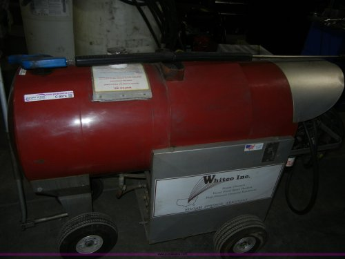 small resolution of  2001 whitco pressure washer and steam cleaner item c9074 on