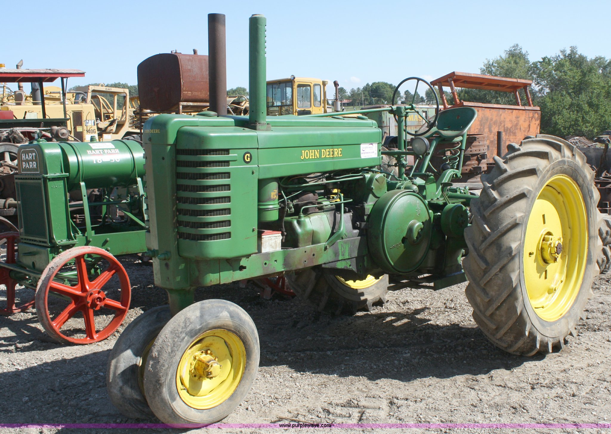 john deere g tractor for sale mutually exclusive venn diagram example 1939 item a2378 sold november 3