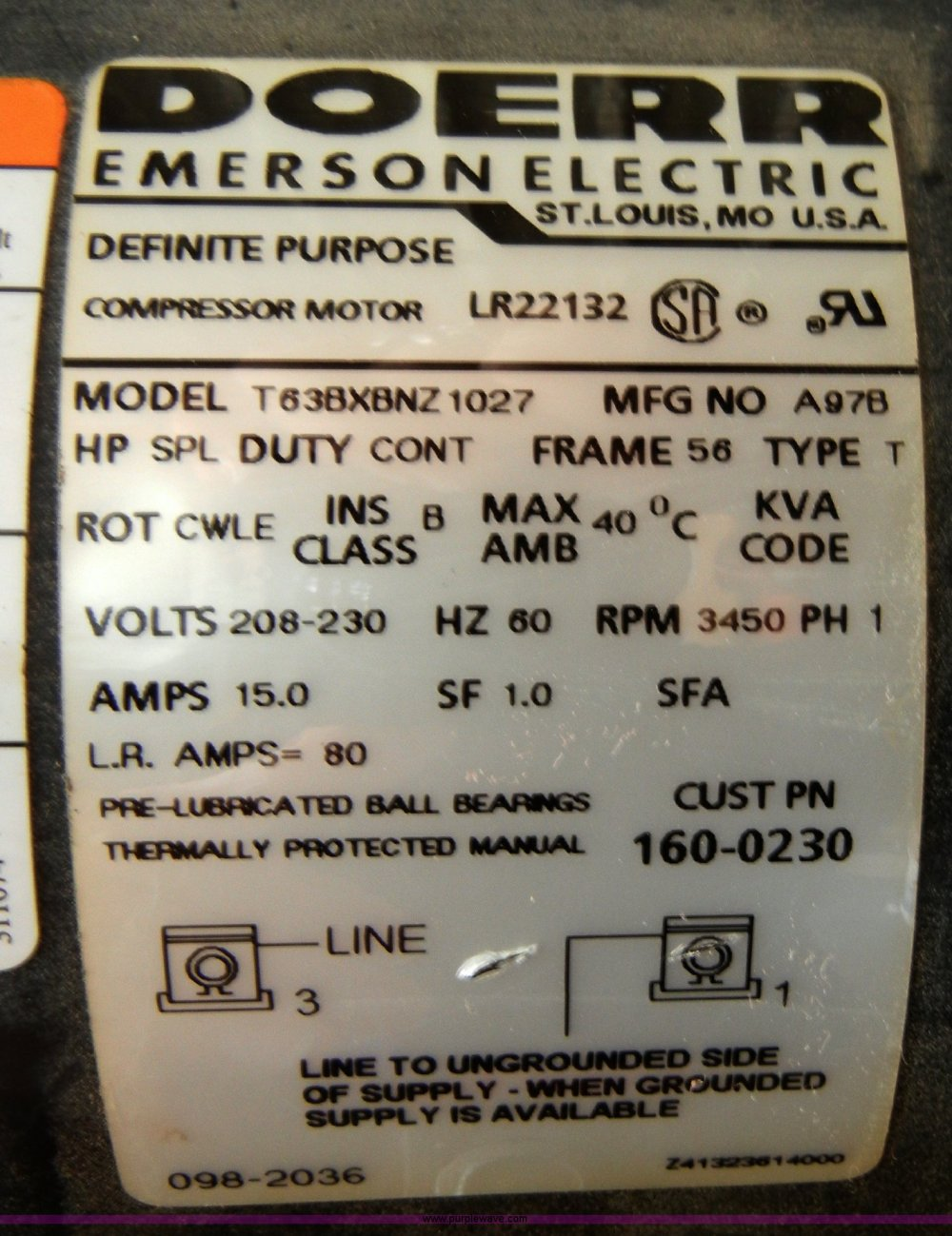 medium resolution of doerr motor lr22132 manual
