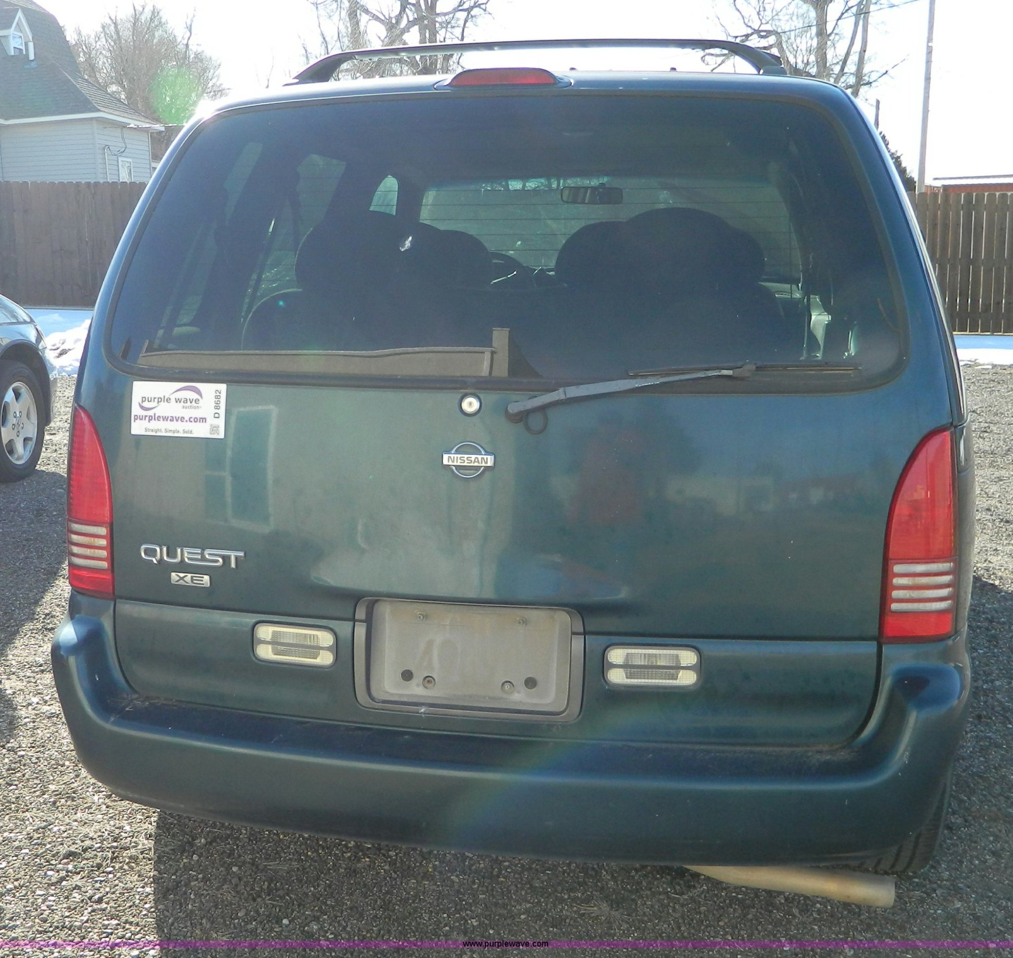 hight resolution of  1998 nissan quest mini van full size in new window