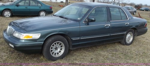 small resolution of b6180 image for item b6180 1996 mercury grand marquis ls