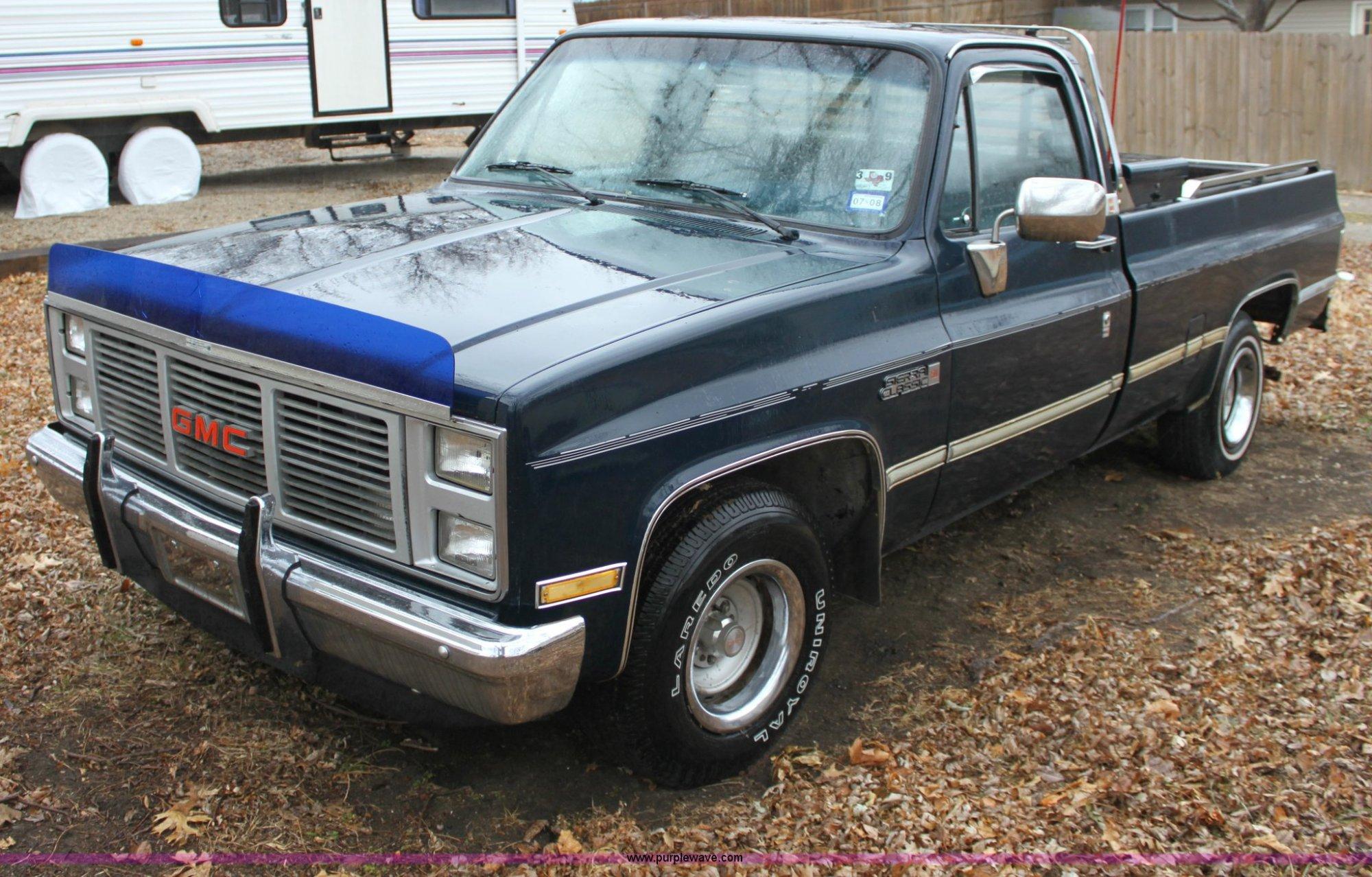 hight resolution of 1985 gmc sierra 1500 classic pickup truck for sale in kansas