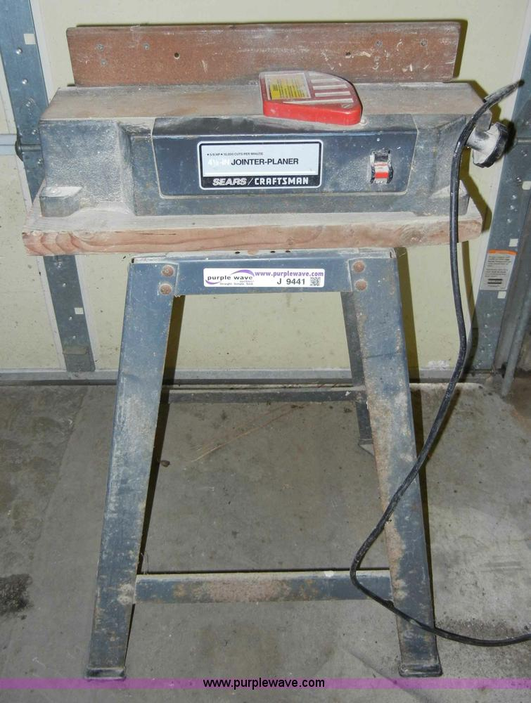 Craftsman Jointer Stand