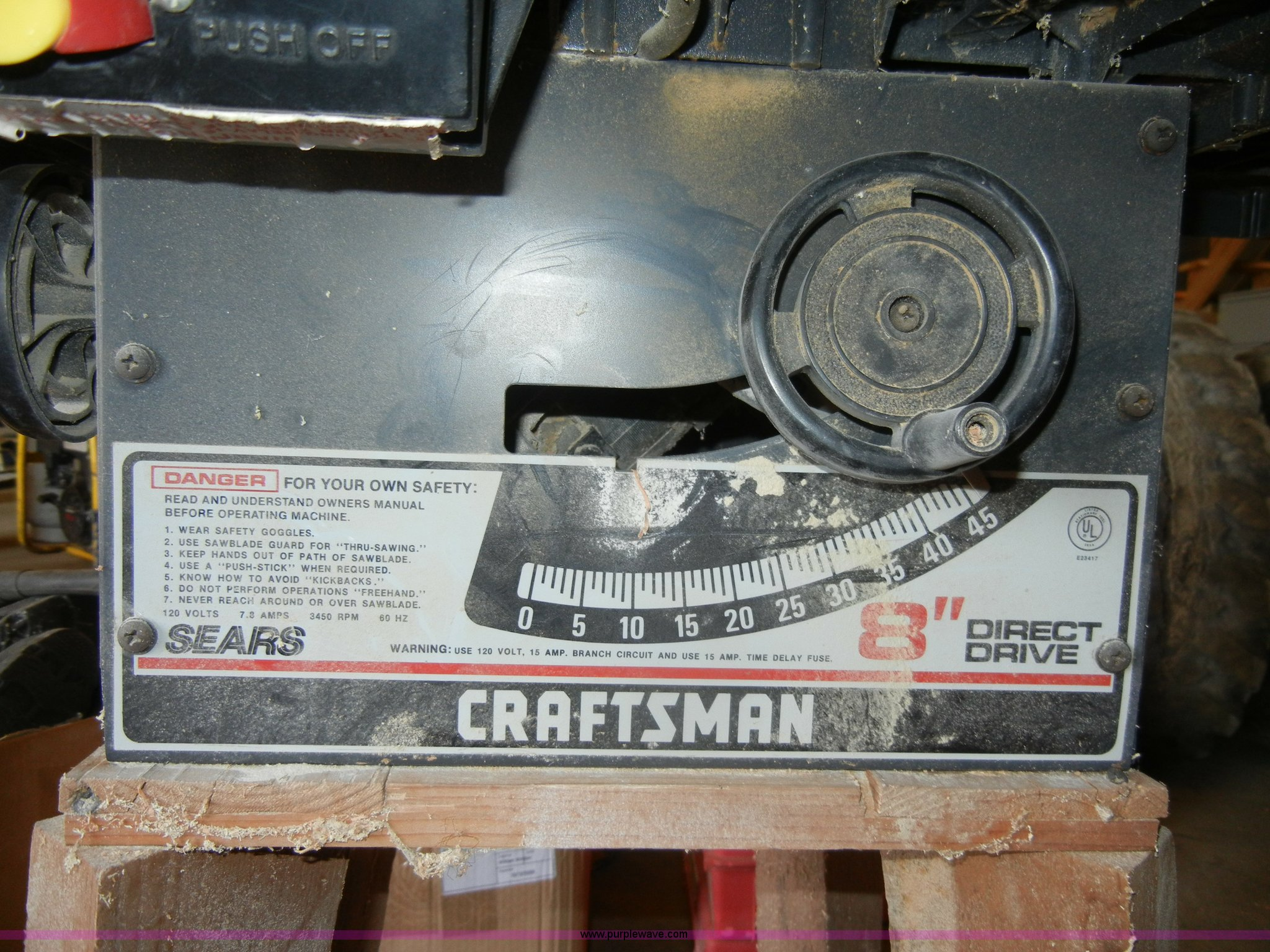 Craftsman 8 Direct Drive Table Saw