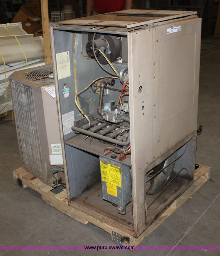 trane air conditioner wiring diagram telephone socket york stellar natural gas furnace | item l9528 sold! april ...