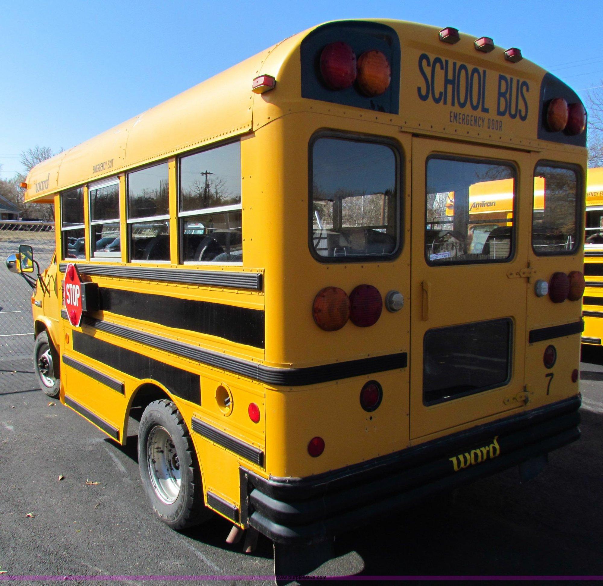 hight resolution of  1992 gmc g3500 vandura school bus full size in new window