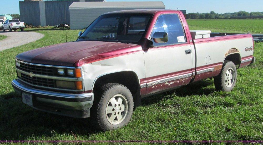 medium resolution of  1989 chevrolet 1500 silverado pickup truck full size in new window