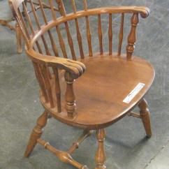 Round Wooden Chair Cover Rentals In Virginia Beach 7 Back Arm Chairs Item R9544 Sold July 1 For Sale Kansas