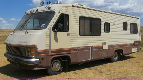 84 Chevy Motorhome - Year of Clean Water