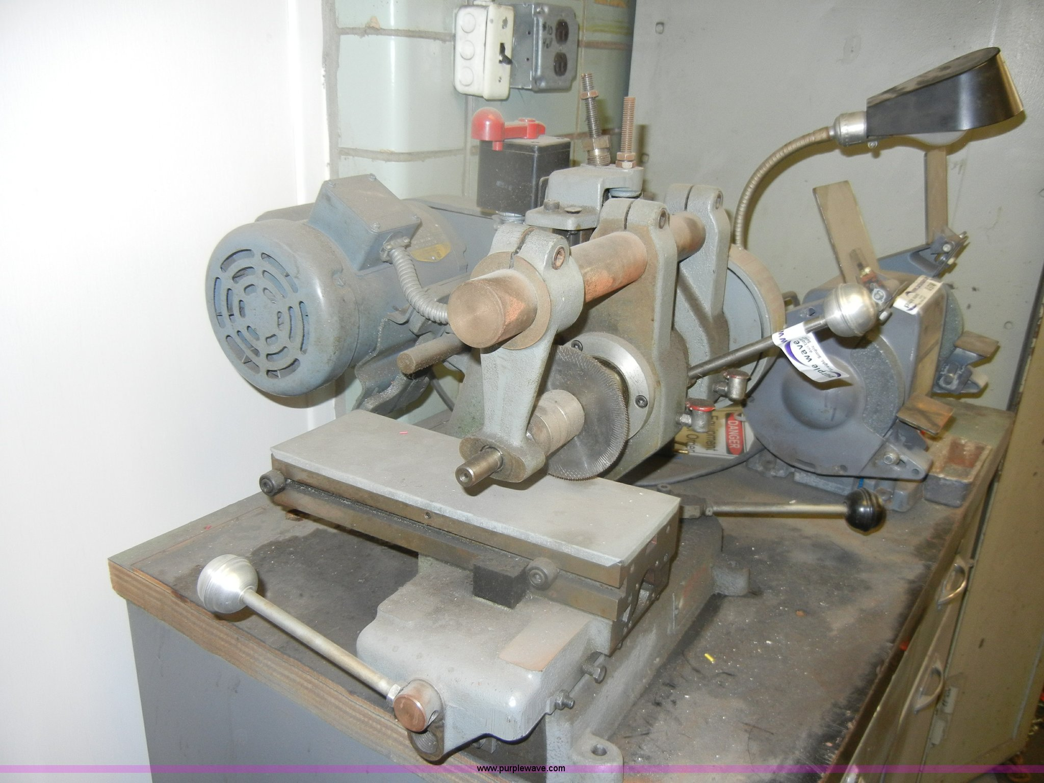 Barker Milling Machine