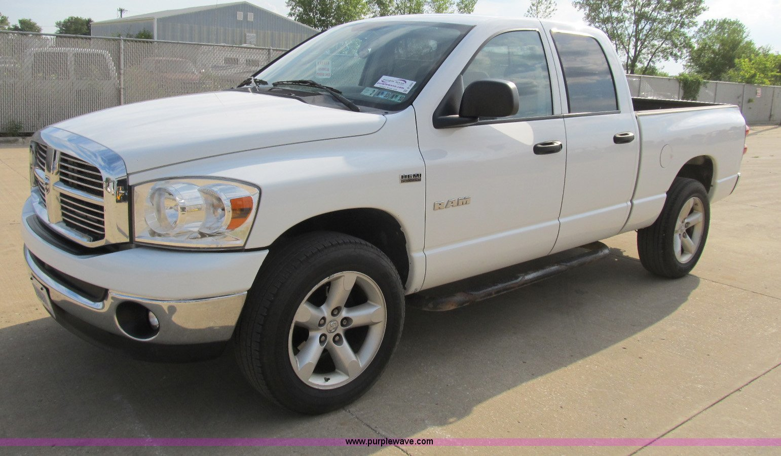 hight resolution of b2844 image for item b2844 2008 dodge ram 1500 big horn edition quad cab