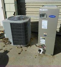 Carrier heat pump unit and Carrier ac unit   Item S9155 ...