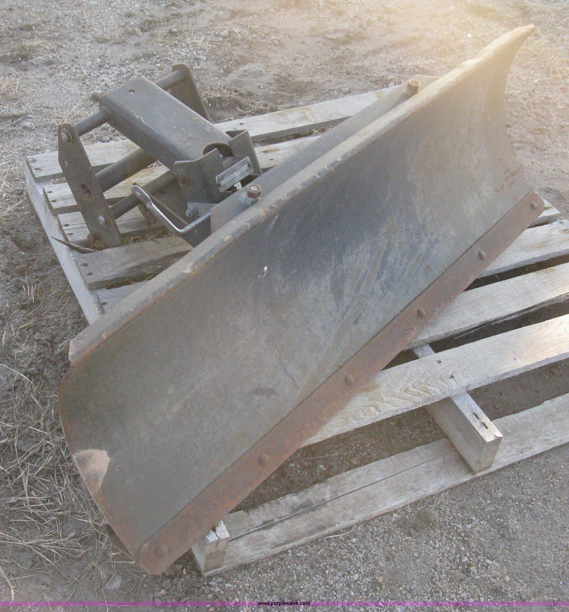 lawn tractor and garden tractor attachments have you covered no matter the task at hand. Sears Lawn Tractor Snow Plow Attachment In Wichita Ks Item B8381 Sold Purple Wave