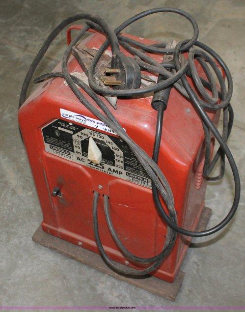 small resolution of v9049 image for item v9049 lincoln ac 225 s arc welder