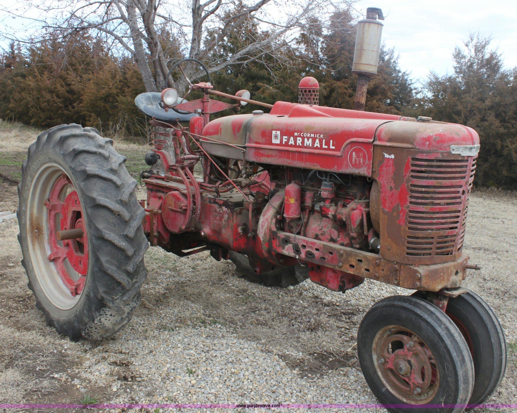 hight resolution of 1946 international farmall m tractor item e8470 sold ap farmall h tractor parts 1946 international