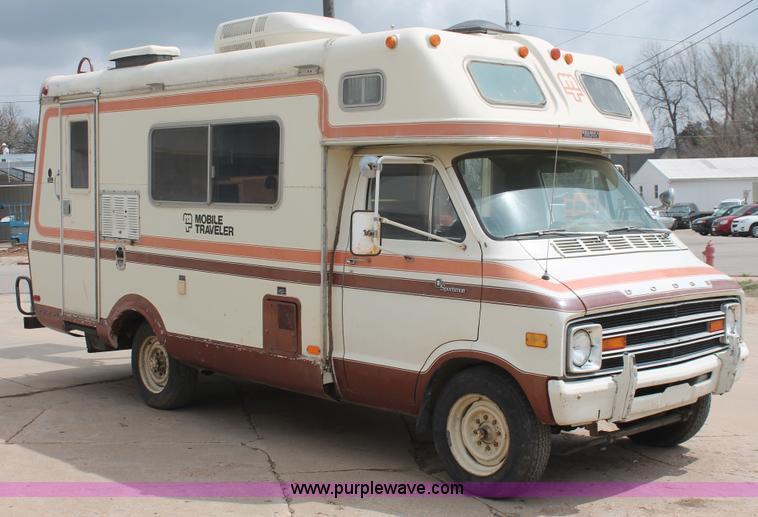 1976 Dodge Sportsman Motorhome Wiring Diagram 1978 Dodge F30 Sportsman Mobile Traveler Camper Item